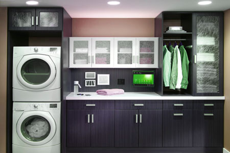 Utility room staging
